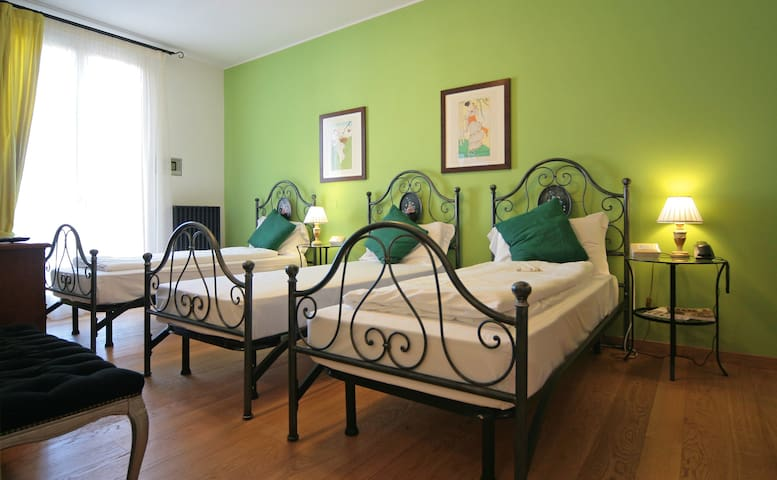 Camera Tripla B&B Al Ponte de Fero - Jesolo - Bed & Breakfast