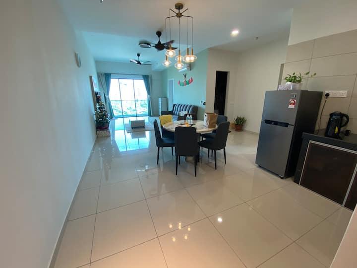 7paxOng Kim Wee Residence@staycation3B/4minsjonker