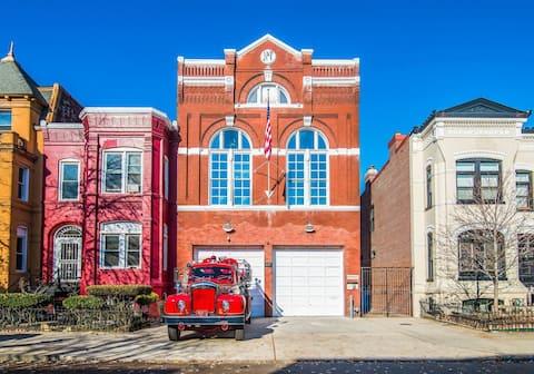 The Historic DC Firehouse 4 - Penthouse Unit