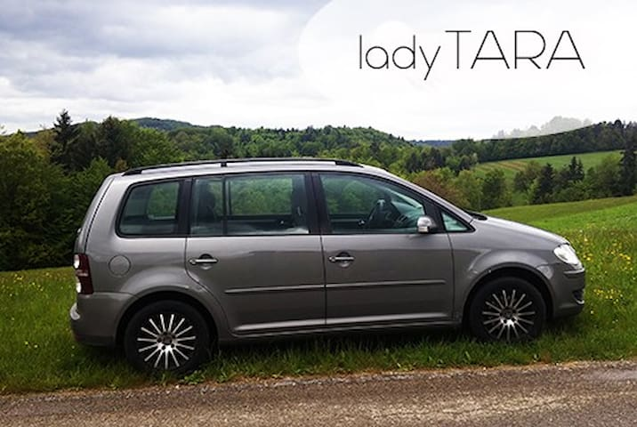 Tara - fast and cosy VW Touran