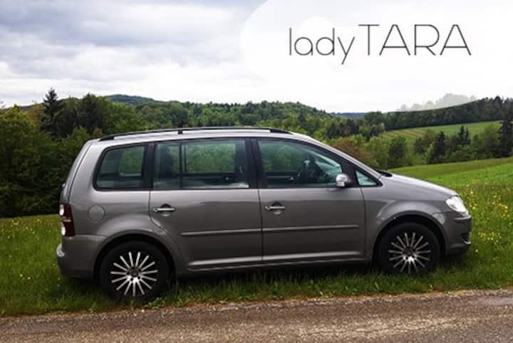Tara - fast and cosy VW Touran
