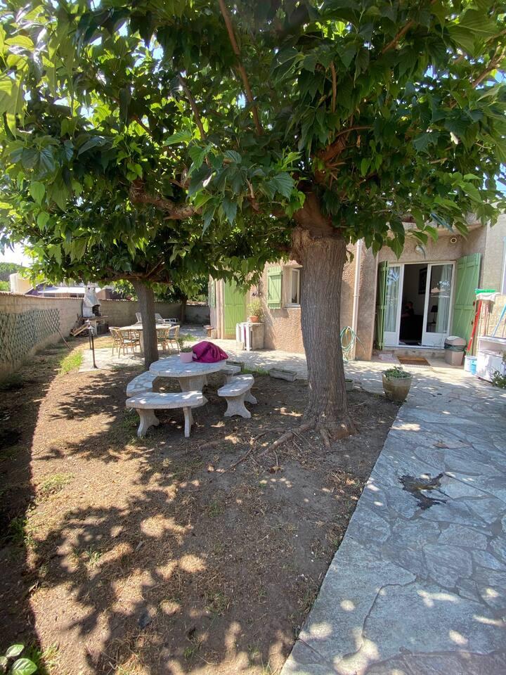 Maison de vacances proche de la plage à la Marana