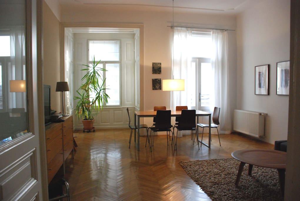 Wohnzimmer 25 qm
