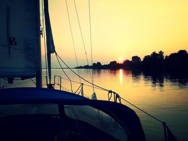 De Nadine: klein paradijs op het water - Nijkerk
