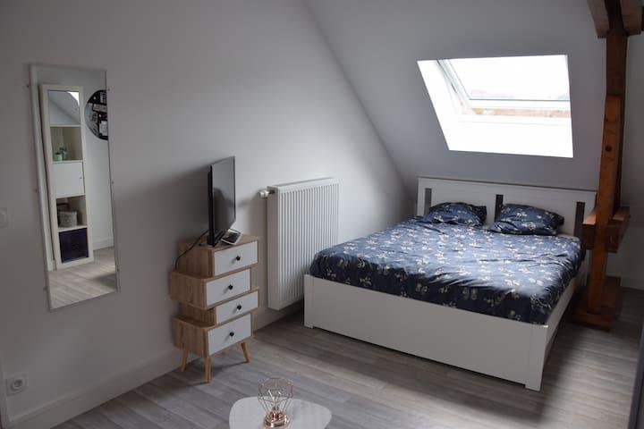 2ème chambre lit 160x200
