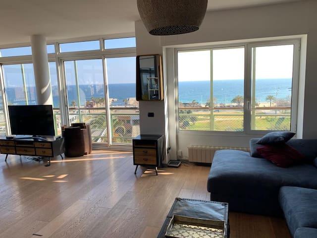 Habitacion con vistas al mar