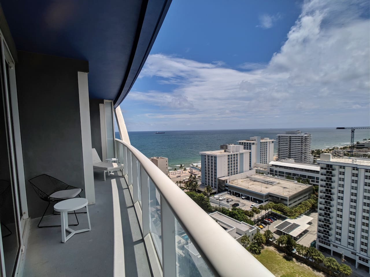 Balcony: Southwest facing to ocean views