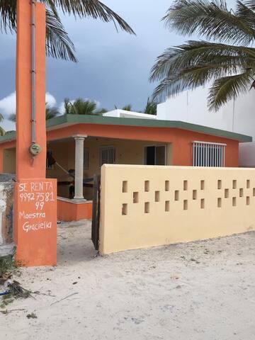 Linda casa de playa - Chuburná - Rumah
