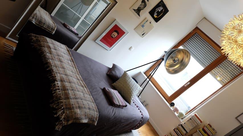 Chambre dans appartement calme et confortable
