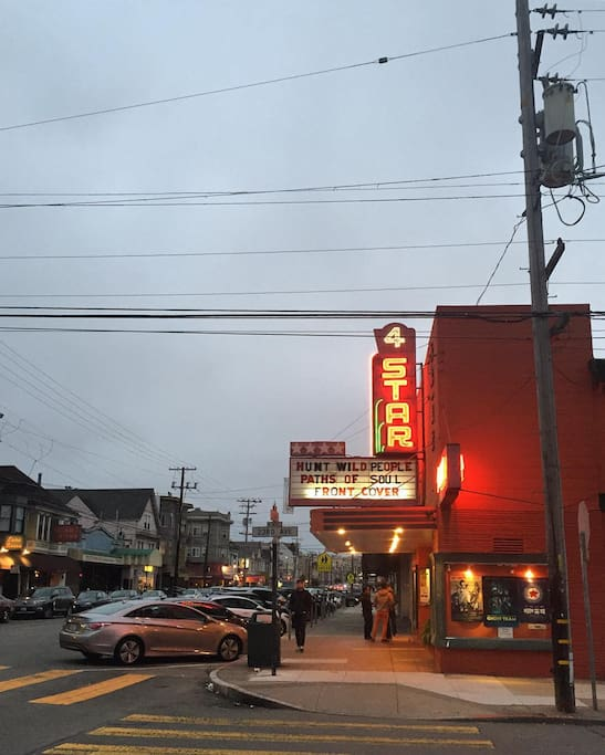 Photo of Four Star Theatre in Richmond District