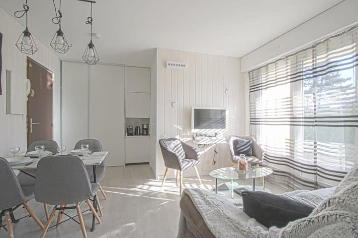 Bright apartment in Cabourg