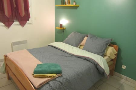 Relaxed apartment near center of Toulouse by Metro