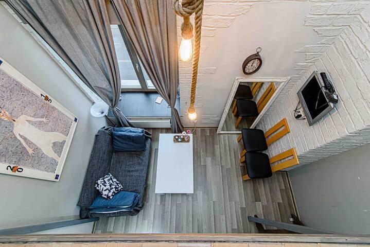 Nice Cozy loft apartment near city center!!!