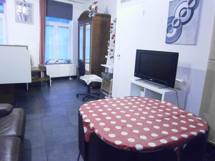 Studio privatif - Maison typiquement tournaisienne