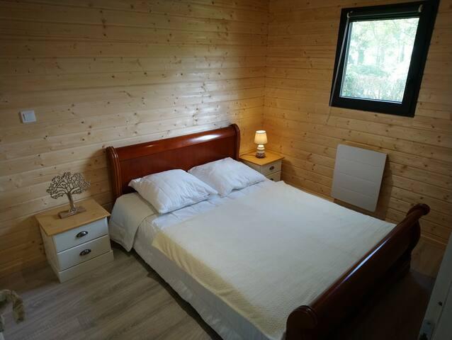 chambre au rdc avec lit de 140