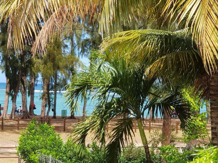 Villa Bienvenue - Beach Front - Face a la Plage