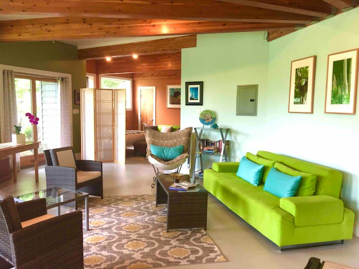 The Kiva Suite-a private & separate retreat space.