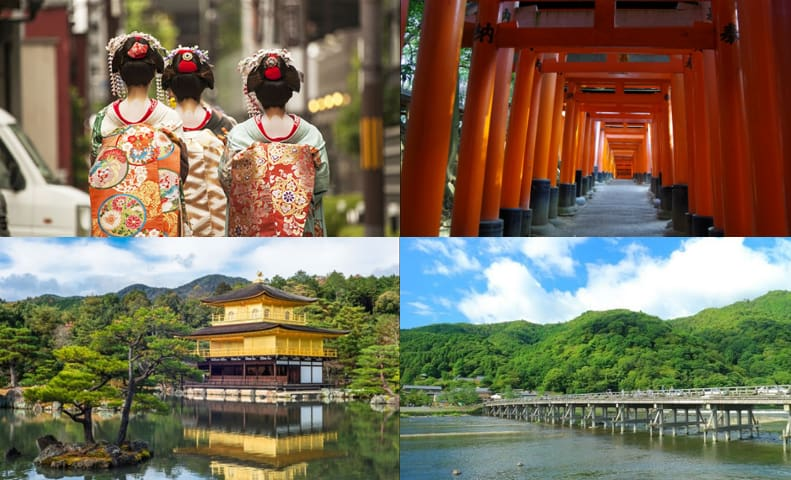 The attraction of Kyoto is the cityscapes and temples and shrines that feel the history to say the least. It is also one of the few areas where you can enjoy the tastes of each season throughout the year.