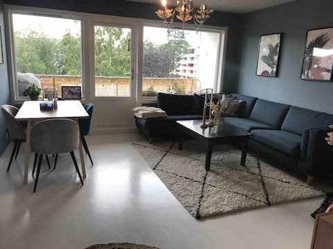 Bright and nice apartment on Rykkinn. 1min to bus.