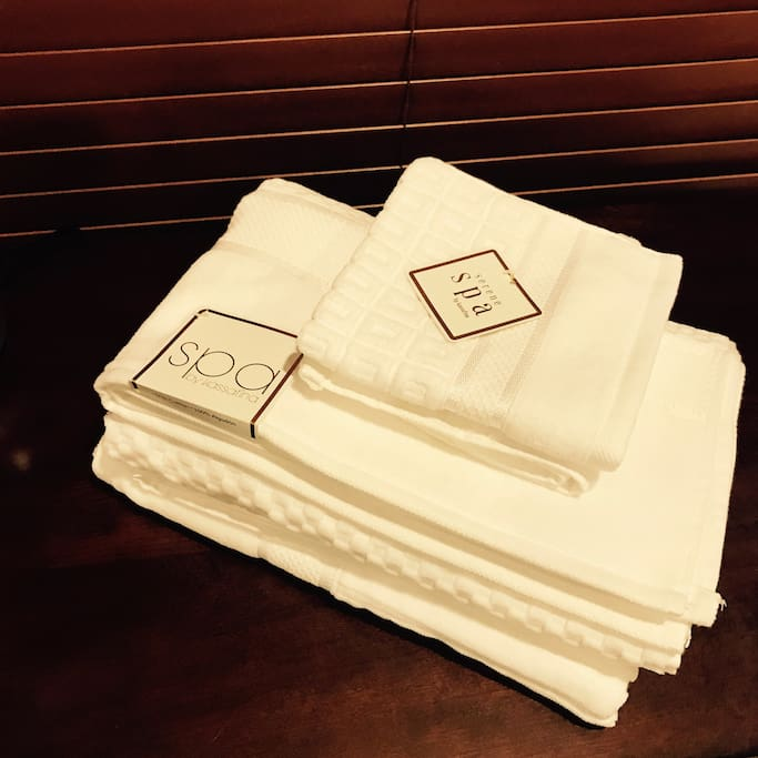 Luxury Spa towel for guests 高級Spa毛巾