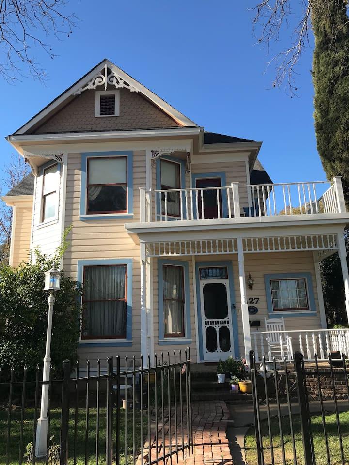 Beautiful historic Victorian - circa 1881. Walking distance to downtown and Main Street.