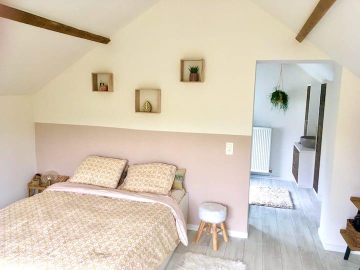 Charmante chambre près de l'Abbaye du Val Dieu