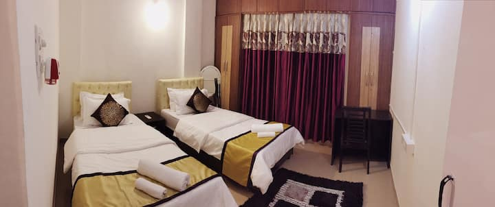 Veridical - Baner Pune - Double Bed/Twin Sharing