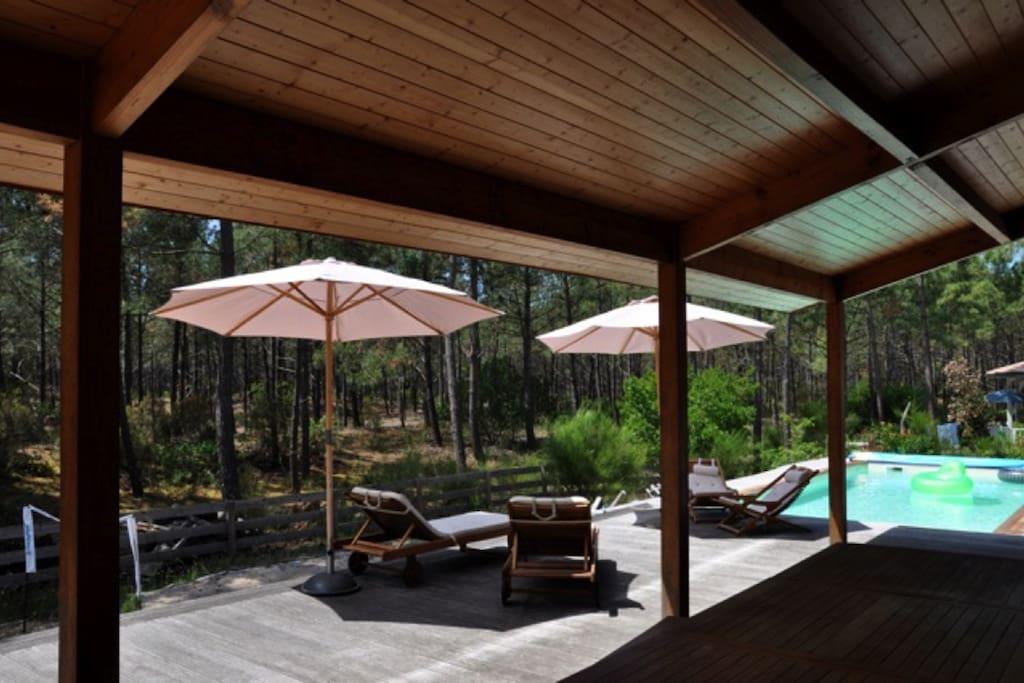 Villa avec piscine lacanau ocean ville in affitto a for Chambre hote limoges