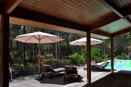 Villa avec piscine - Lacanau Ocean - ラカノー