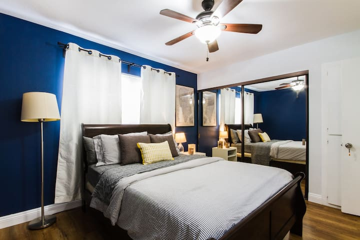 Rad Bedroom Near South Coast & Mile Square - Fountain Valley