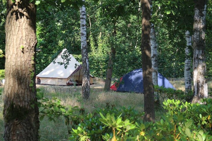 Tipi Tent in forest - Villa - Circuit Zolder