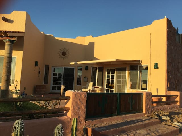 This 3 Bedroom 2 bath home has the Best Beach,