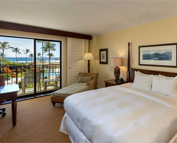 Great Oceanview Kauai Beach Resort King Sz.Bed 99+