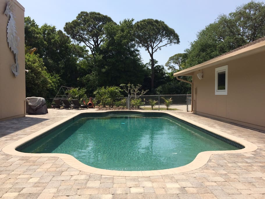 Beach or your private salt water pool? Tough choice!