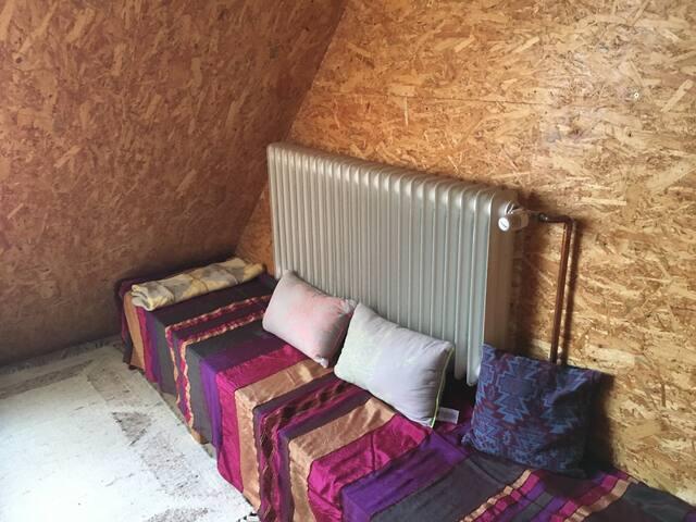 Sitzecke, Herr-Berge-Uns, Mehrbettzimmer 2