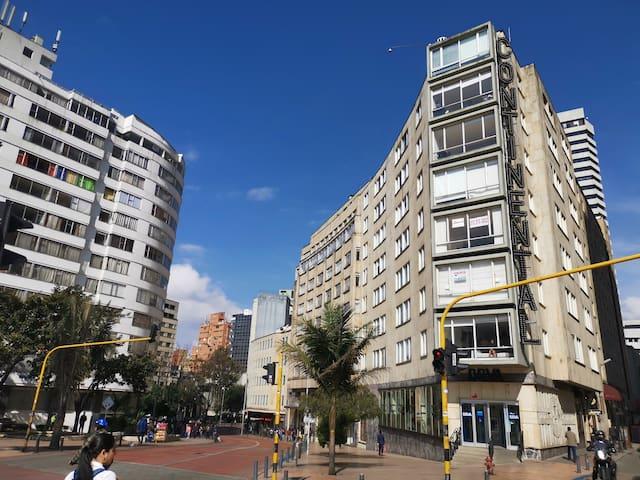 Modern Duplex (Hotel Continental - La Candelaria)