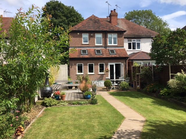 Modern homely and friendly home
