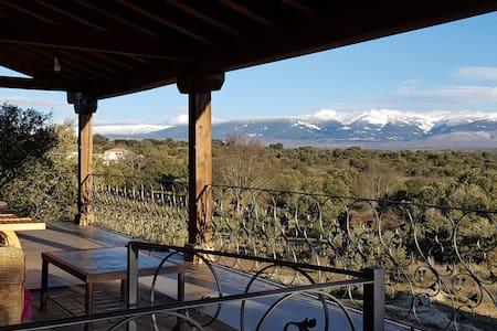 Finca Montechico, Casa de Piedra,  rural Segovia
