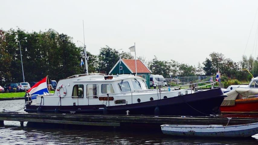 De Woude, boot de Steert.