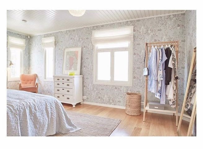 The main bedroom upstairs
