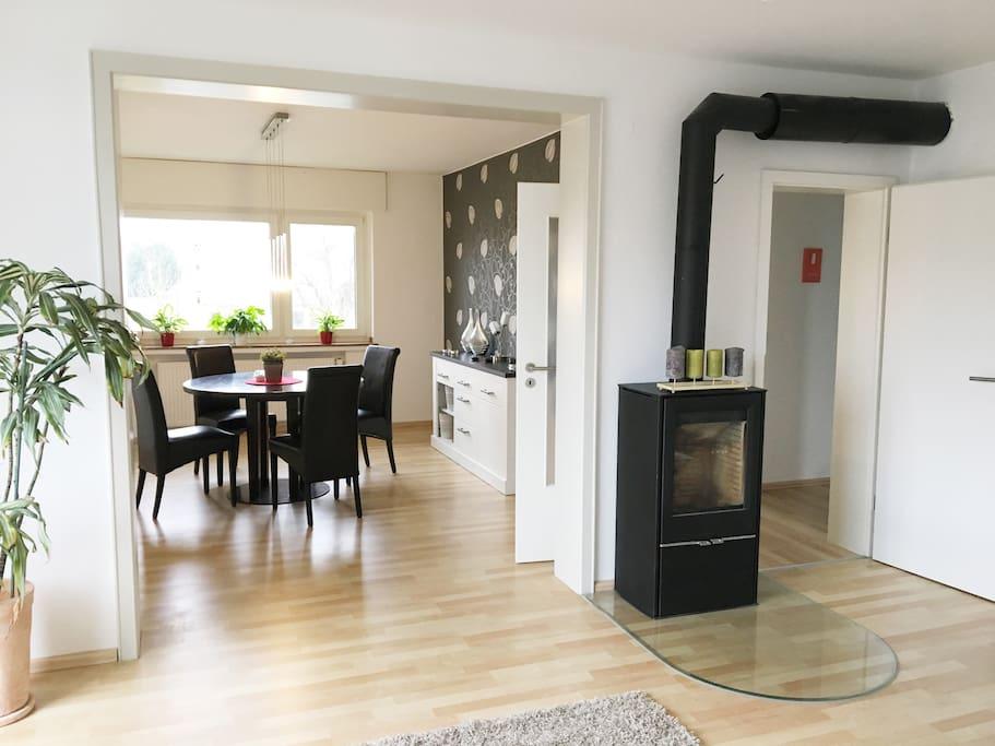 neu gem tliche moderne wohlf hlwohnung stanovi za najam bad lippspringe nrw njema ka. Black Bedroom Furniture Sets. Home Design Ideas