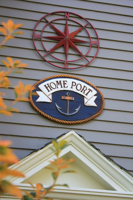 HomePort is the port in which a vessel is registered or permanently based.
