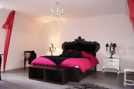 Chambre Baroque pour deux personnes - Broons - Bed & Breakfast