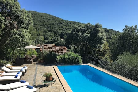 Charming Village House with Pool, Air Con & Wifi - Monoblet