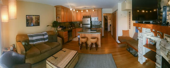 Remodeled,  1 bedroom condo, in heart of Dillon