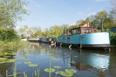Charming Unique Houseboat near Stratford upon Avon - Welford-on-Avon