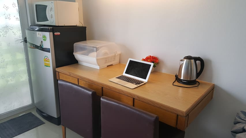 working & dining space
