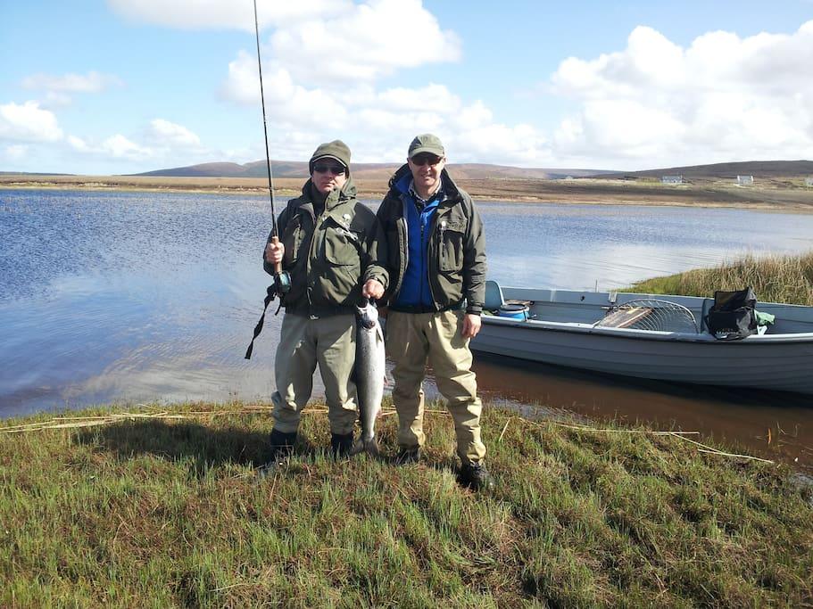 Angling on Carrowmore Lake