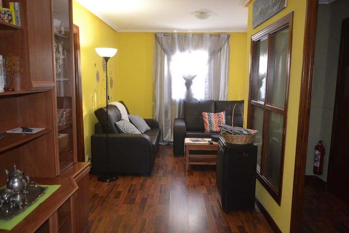 FLAT COQUETO AND QUIET, WIFI (IDEAL FAMILIES)