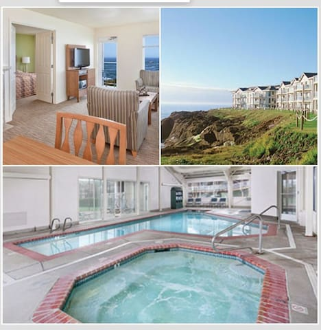 2 Bedroom Queen Phase 2 Wyndham Depoe Bay, OR - Depoe Bay - Apartamento